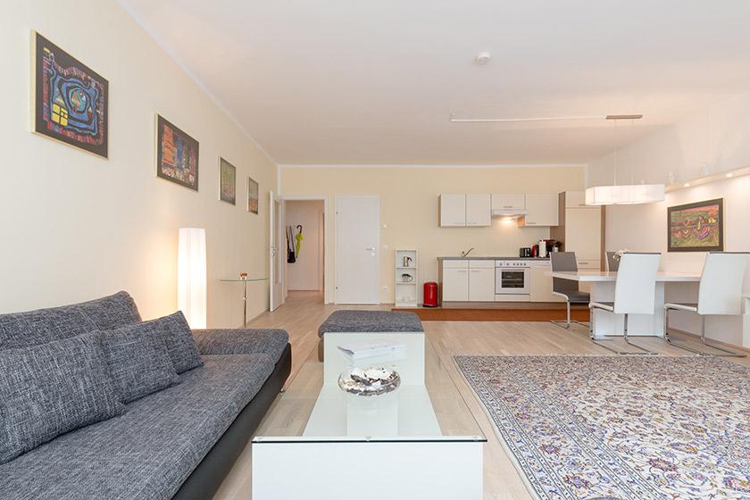 Wohnraum Apartment Wiedner Hauptstraße Wien